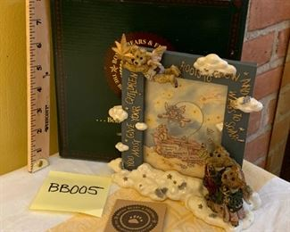 (Photo 1 of 2) Boyds Bearstones 1997 Wings to Soar Frame 27300 $20