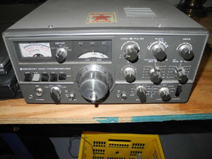 Kenwood transceiver ham/amateur radio