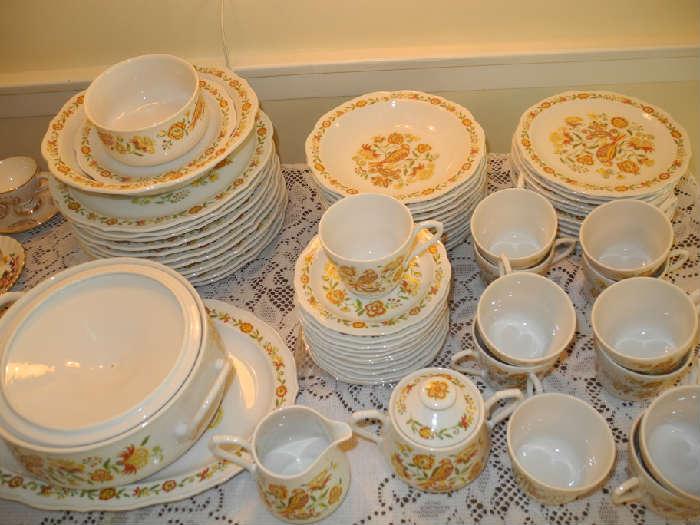 Lovely vintage Sango china set
