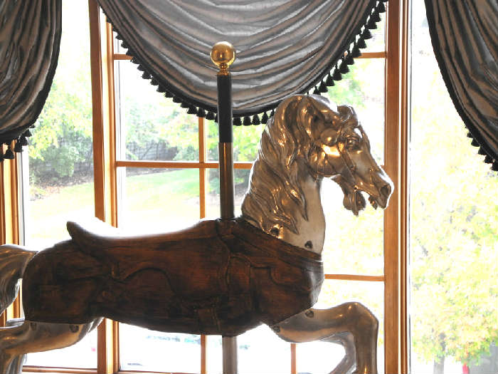 Fabulous authentic 1930's carousel horse, amazing!