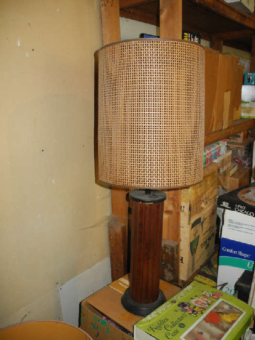 One of many mid-century lamps