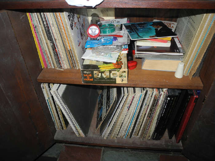 We have records - LPs and 78's.....