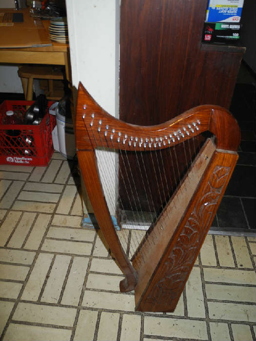 Small harp and we have an even smaller one!