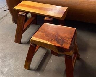 Cool made in Montana stools $50 & $46