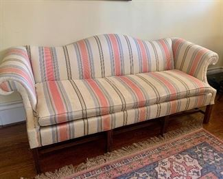 """#1032J  Chippendale style sofa  82""""  $125"""