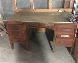 $45 Antique Oak Desk