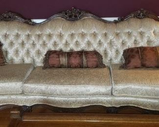 Vintage Hollywood  Sofa