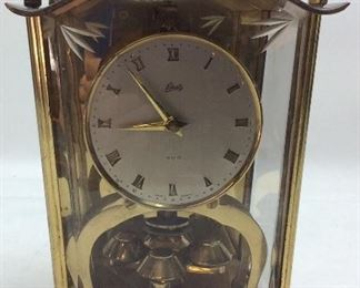 ANTIQUE SHATZ CARRIAGE CLOCK