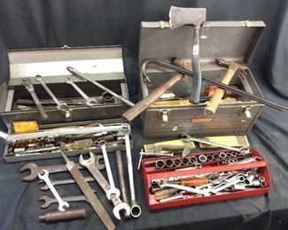 HAND TOOL LOT/TOOLBOXES