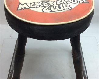 VINTAGE MICKEY MOUSE STOOL
