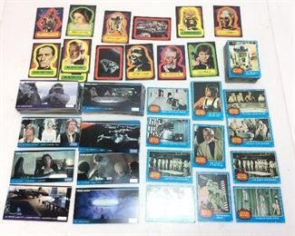 1977 STAR WARS/EMPIRE STRIKES BACK CARDS