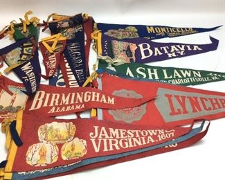 VINTAGE BANNERS FROM AROUND