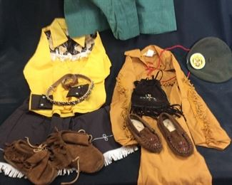 VTG. CHILDRENS CLOTHING, GIRL SCOUT