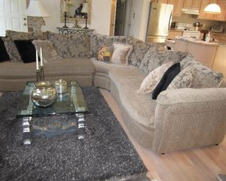Beautiful Hildreth Flexsteel Sectional Sofa and more