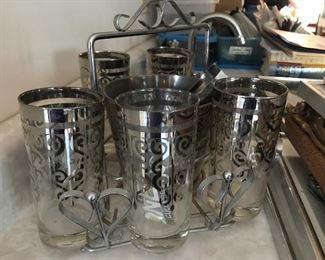 Vintage Silver Glasswear