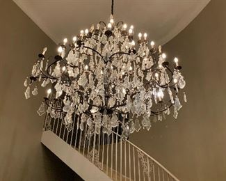 Louis XV style chandelier  - Entry Hall - VERY Large - Stately