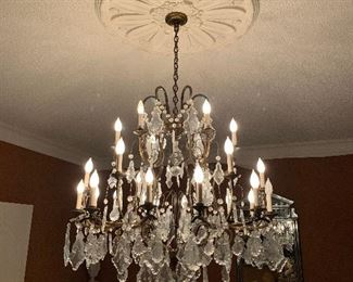 Louis XV style chandelier - Dining Room