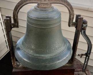 1874 antique bell