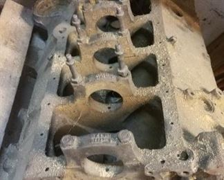 1964 corvette 327 engine block