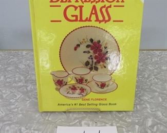 Depression glass reference book