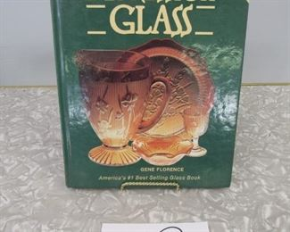 We have a few depression glass reference books this auction