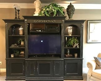 3pc entertainment center. Television not included