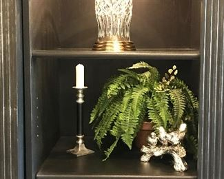 Lighted display bookcase