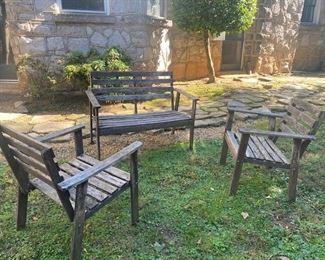 $100. Outdoor furniture