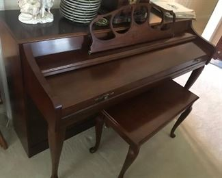 Wurlitzer Piano  / Bench $ 250.00