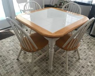 Table / 4 Chairs $ 124.00
