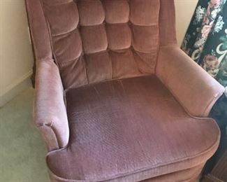 Upholstered Swivel Rocker $ 54.00