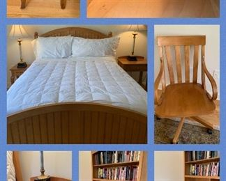 Ethan Allen Country Colors Bedroom Suite, Full