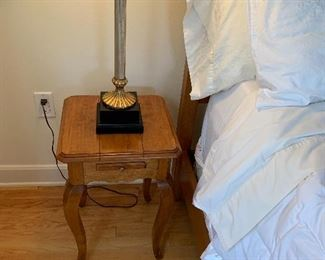 Ethan Allen Side Table:  $45