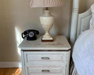 Vintage Henredon Charisma Collection Bedside Table $50 (Two available)