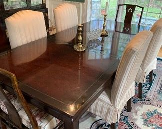 White Furniture Company Dining Table and 8 chairs $300