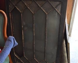 There are 4 matching of these Antique Windows perfect for that refurbish/repurpose project