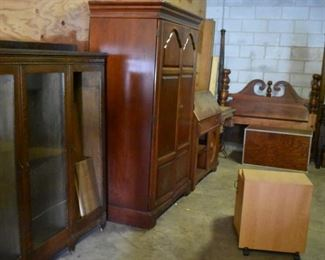 Antique Breakfront, Wardrobe and More!