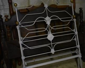 Antique Brass and Iron Bed