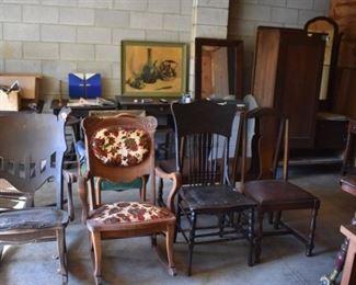 More Antique Chairs, etc.