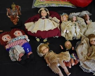 Collectible Antique and Vintage Dolls from Madame Alexander to Raggedy Ann and Andy