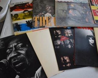 Vintage Vinyl Rock Albums just a sampling of a great Collection of Rock Albums