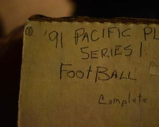 Vintage Box of 1991 Pacific Plus Series, Football Cards