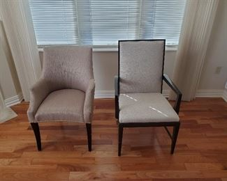 chair on right is Jessica Charles is presale $95 and one on left is Walter e smiths presale $125