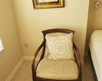 Side chair and pillow....presale on chair at $85