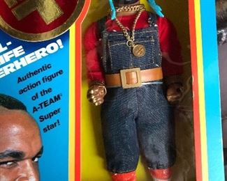 Original Mr T Doll...New Old Stock
