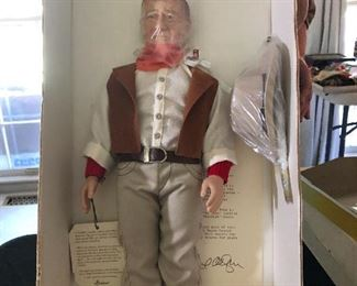 Original John Wayne Doll-New Old Stock