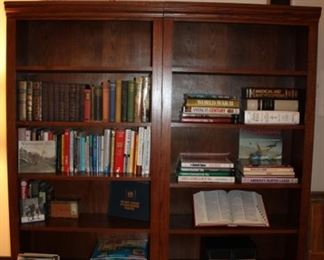 BOOKS (BOOKCASES NOT FOR SALE)