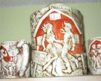 Avon Collectible Ceramic series