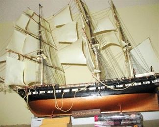 Model Ships   some in complete kit boxes