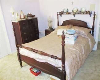 Jenny Lind Bed and Dresser